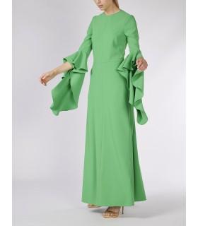 Buy Vestido verde PERTEGAZ